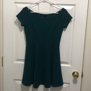 Forever 21 emerald green dress, size M.